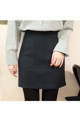 un beau, skirt [울80%]