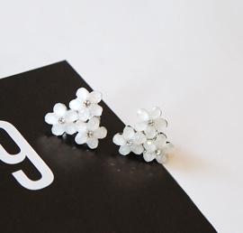 little flower, earring
