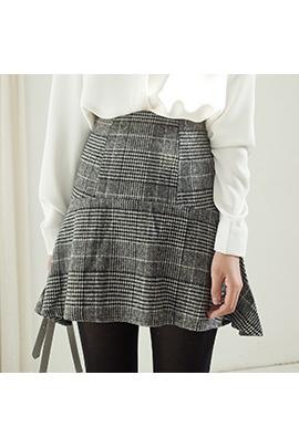 classic check, skirt