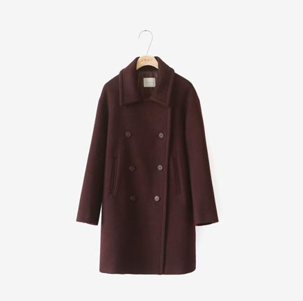 [SALE]from wine, coat [울90,조끼SET]