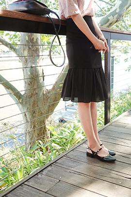 talk to, skirt