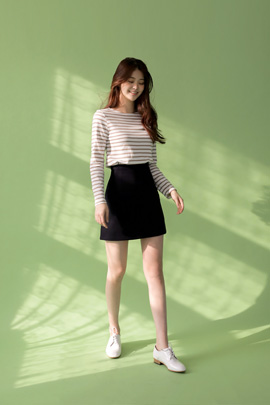 joy mini, skirt (navy)