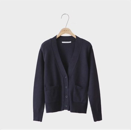 one love, cardigan (navy)
