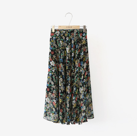 windy day, skirt