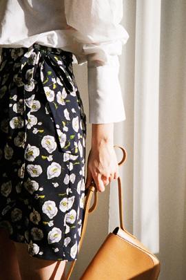 lab flower, skirt
