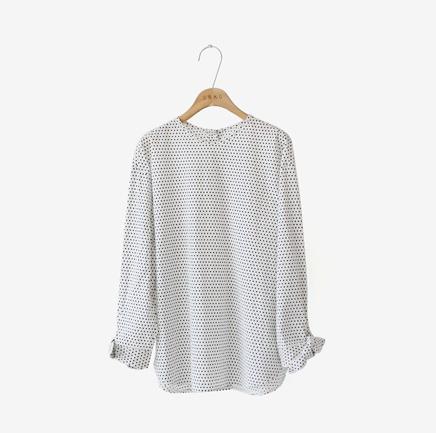 perfect dot, blouse