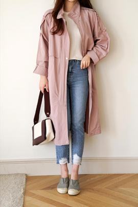 hood pink, coat