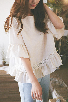 mellowly, blouse