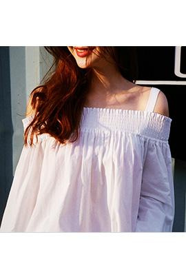 white smoke, blouse