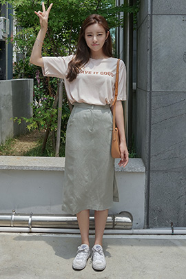 side by, skirt