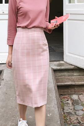 [무료배송]by pink, skirt