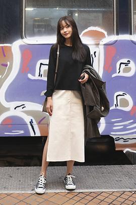 [무료배송]lowness, skirt