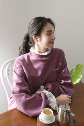 [재입고] very lace, tee
