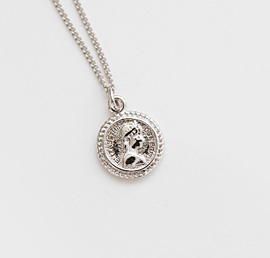 deying on, necklace