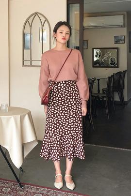 [11/5일 입고]pink puff, knit