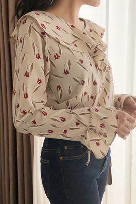 rich tulip, blouse