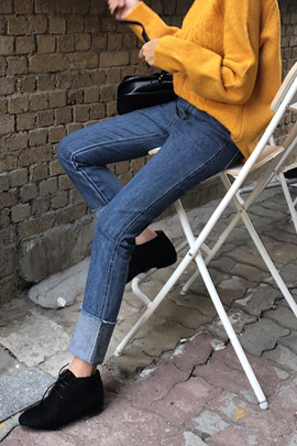 lingering, jeans