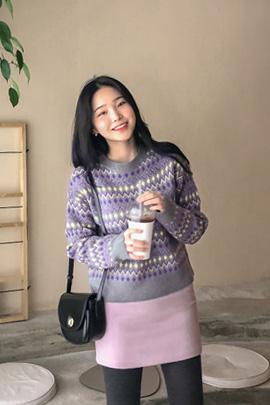vielfalt color, knit