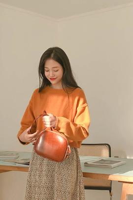 sweets orange, knit