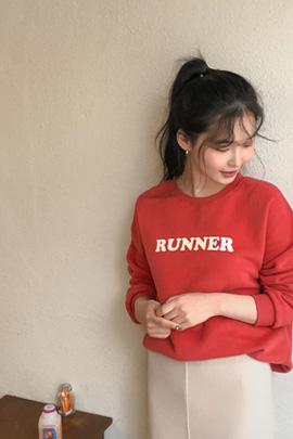 runner, tee [기모안감]