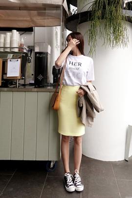chou cream_skirt