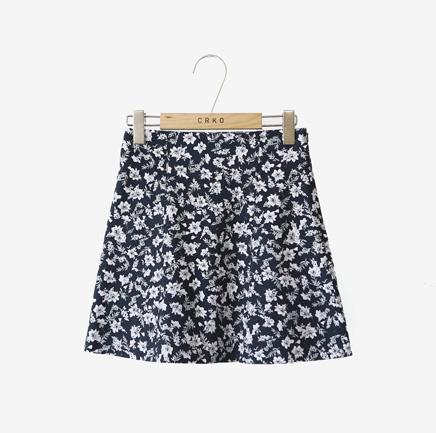 mini flower_skirt