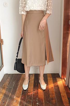 dark beige_skirt
