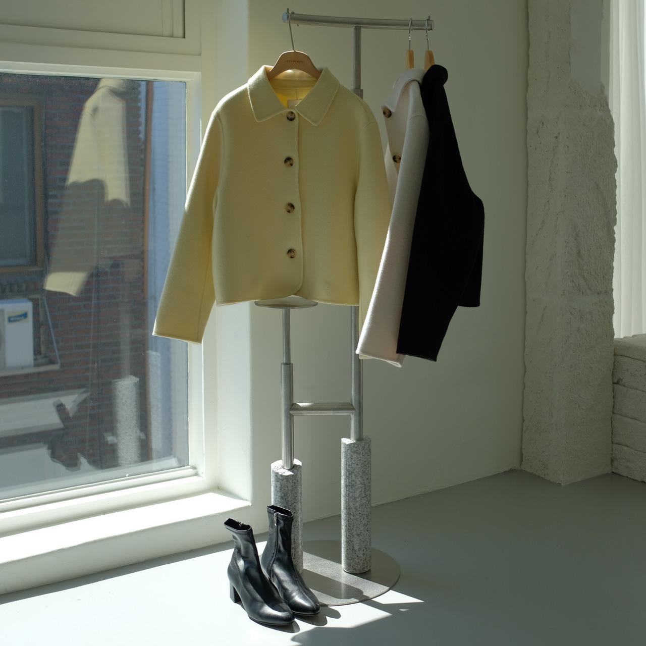 handmade短款大衣