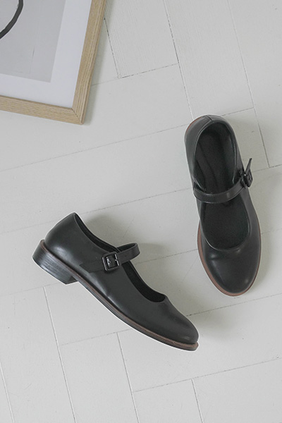 圆头可爱平底单鞋