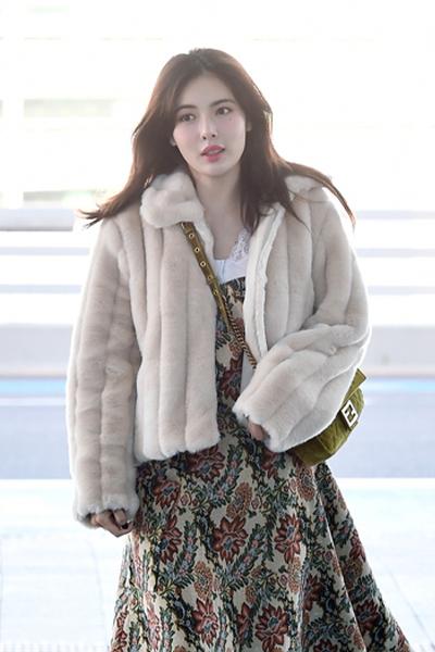 可爱毛毛夹克_hyunA's pick