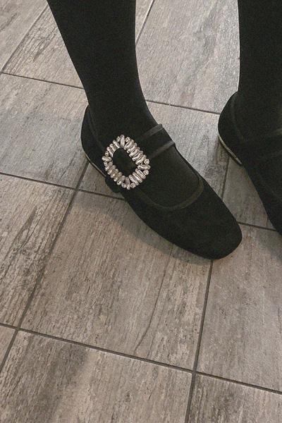 可爱闪闪方钻单鞋