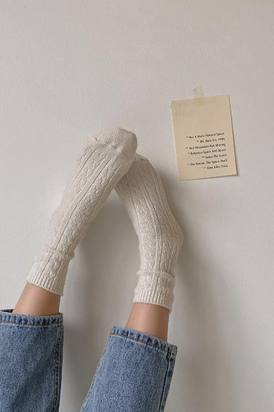 百搭羊毛袜