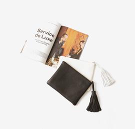 leather tassel, bag