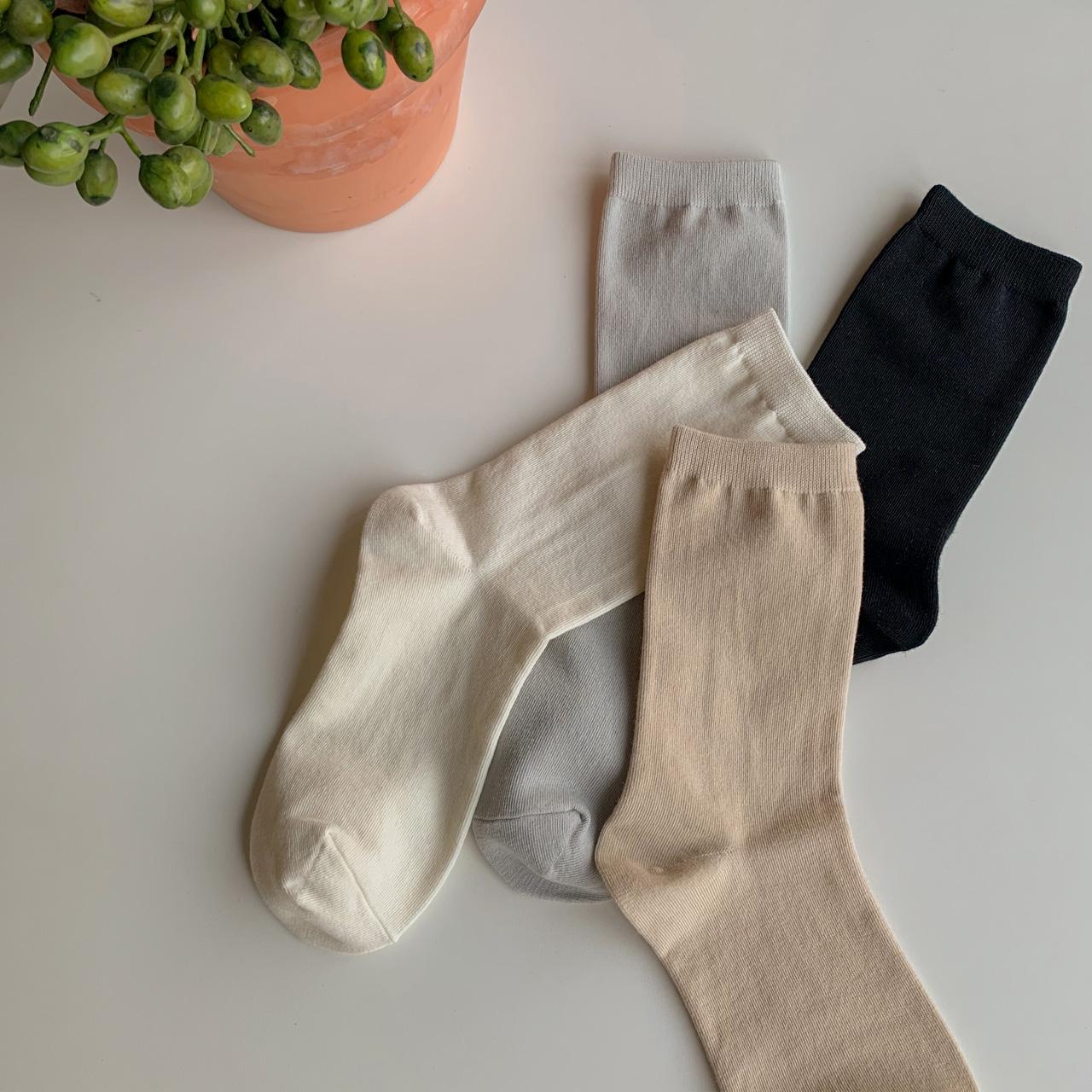 SS净色袜