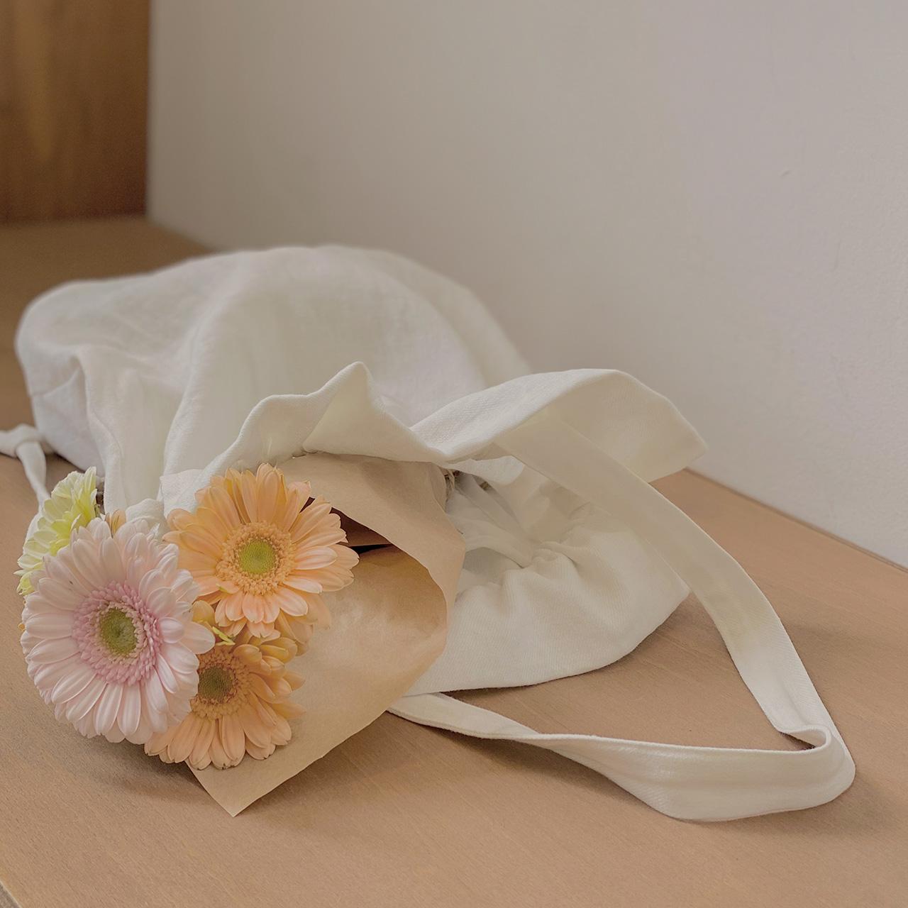 小清新系带环保袋